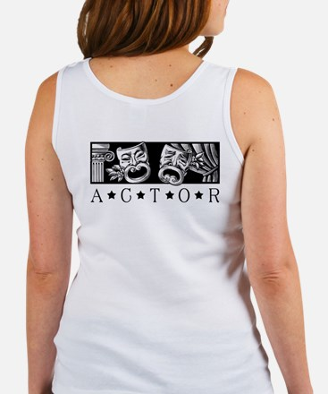 On Method Acting Women's Tank Top