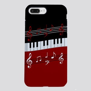 Stylish Piano keys and mu iPhone 7 Plus Tough Case