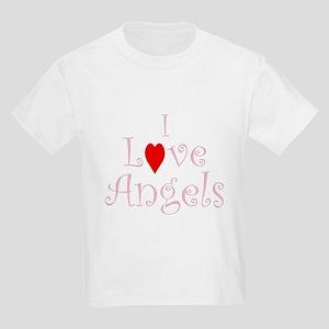 I love angels - Kids T-Shirt