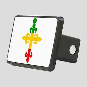 Ethiopian Cross Rectangular Hitch Cover