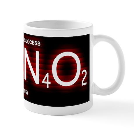 Caffeine Formula (White with Red Tint) Mug