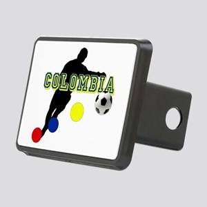 Colombia Futbol Player Rectangular Hitch Cover