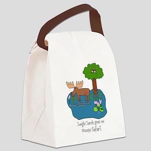 Moose Safari Canvas Lunch Bag