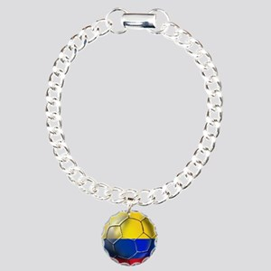 Colombia Soccer Ball Bracelet