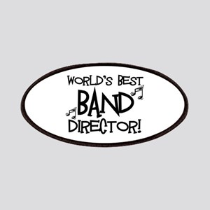Worlds Best Band Director Patches
