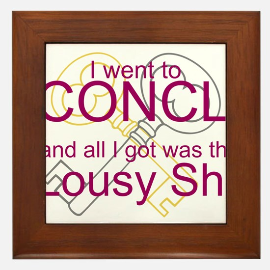 I went to Conclave and all I got was this Lousy Sh
