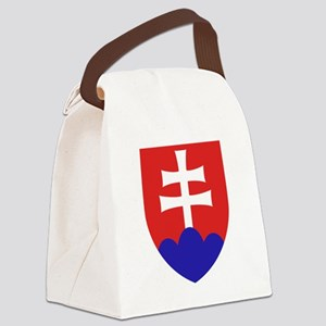 Slovakia Coat of Arms Canvas Lunch Bag