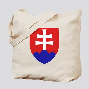 Slovakia Coat of Arms Tote Bag