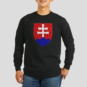 Slovakia Coat of Arms Long Sleeve T-Shirt