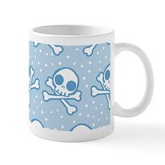 Cute Blue Skulls Mug Mugs