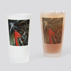 Tevatron accelerator, Fermilab - Drinking Glass