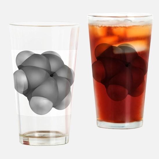 Benzene, molecular model - Drinking Glass