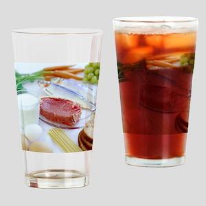 Balanced diet - Drinking Glass