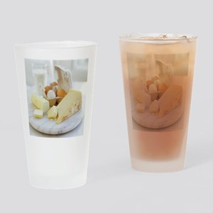 Eggs and cheese - Drinking Glass