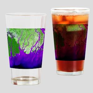 Ganges Delta - Drinking Glass