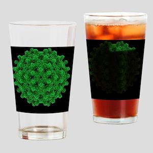 Hepatitis B virus particle - Drinking Glass