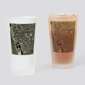 Liverpool, UK, aerial image - Drinking Glass