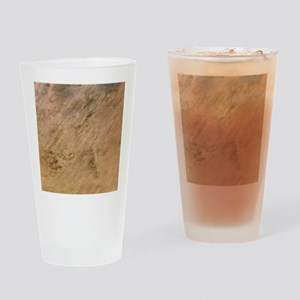 Tenoumer Crater, satellite image - Drinking Glass