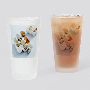 Assortment of eggs - Drinking Glass