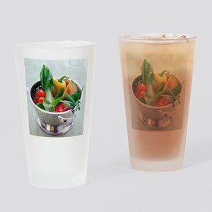 Fruit and vegetables - Drinking Glass