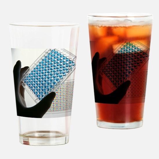ELISA test plate - Drinking Glass