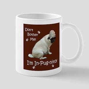 Funny In-Pug-nito! Pug Dog Mug
