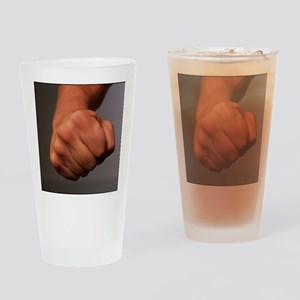 Clenched fist - Drinking Glass