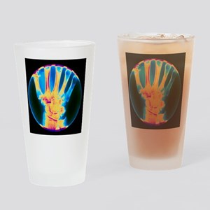 ist of the hand - Drinking Glass