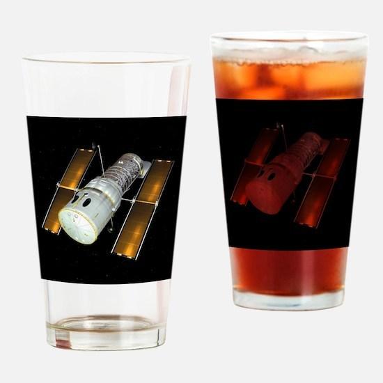 Hubble Space Telescope, artwork - Drinking Glass