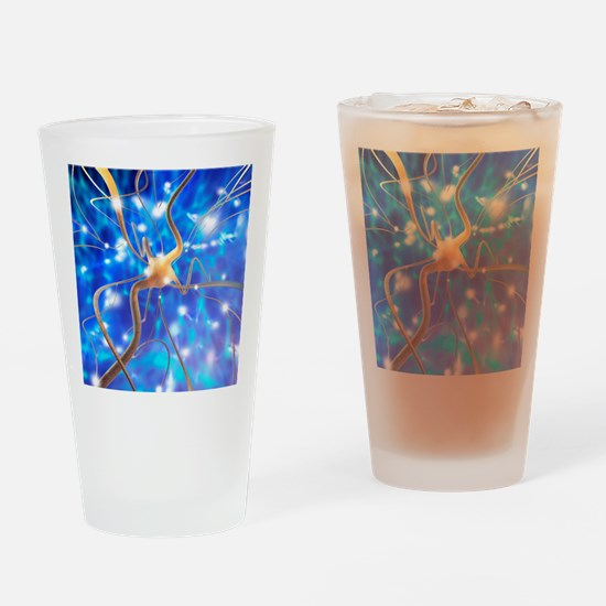 Nerve cell - Drinking Glass