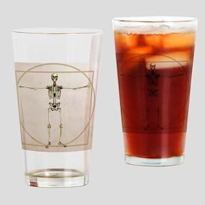 Skeleton, artwork - Drinking Glass