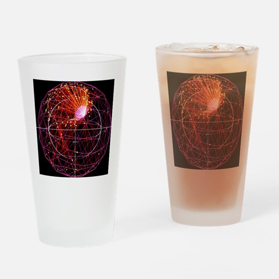 Simulated neutrino event - Drinking Glass