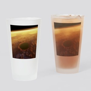 Water on Mars - Drinking Glass