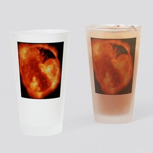 X-ray image of Sun - Drinking Glass