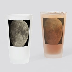 Waxing gibbous Moon - Drinking Glass