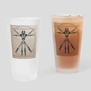 Robot, artwork - Drinking Glass