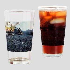 Open cast coal mining - Drinking Glass