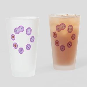 Mitosis, artwork - Drinking Glass