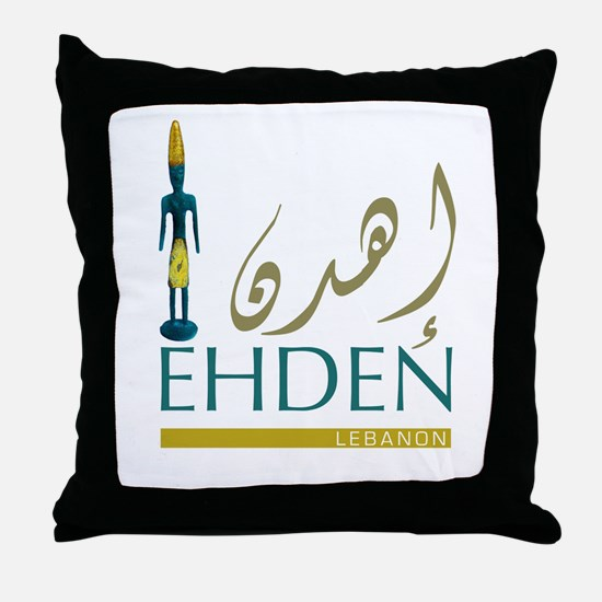 Ehden (Arabic) Throw Pillow