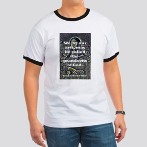 We By Our Arts - da Vinci Ringer T
