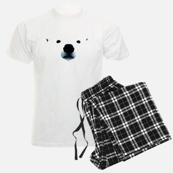 Polar Bear Face Pajamas