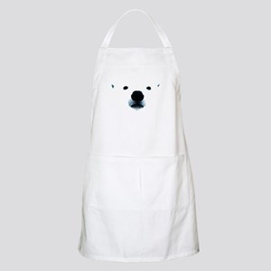 Polar Bear Face Apron