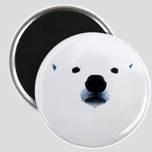Polar Bear Face Magnet