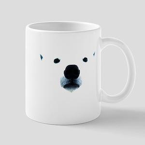 Polar Bear Face Mug