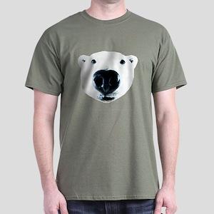 Polar Bear Sniff Dark T-Shirt