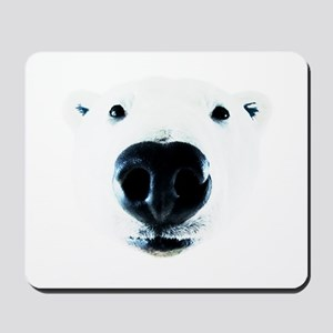 Polar Bear Sniff Mousepad