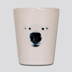 Polar Bear Sniff Shot Glass