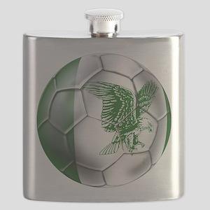Nigeria Football Flask