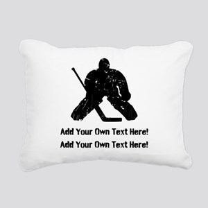 Personalize It, Hockey Goalie Rectangular Canvas P