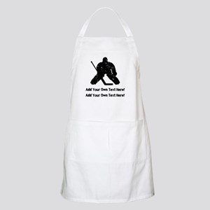 Personalize It, Hockey Goalie Apron